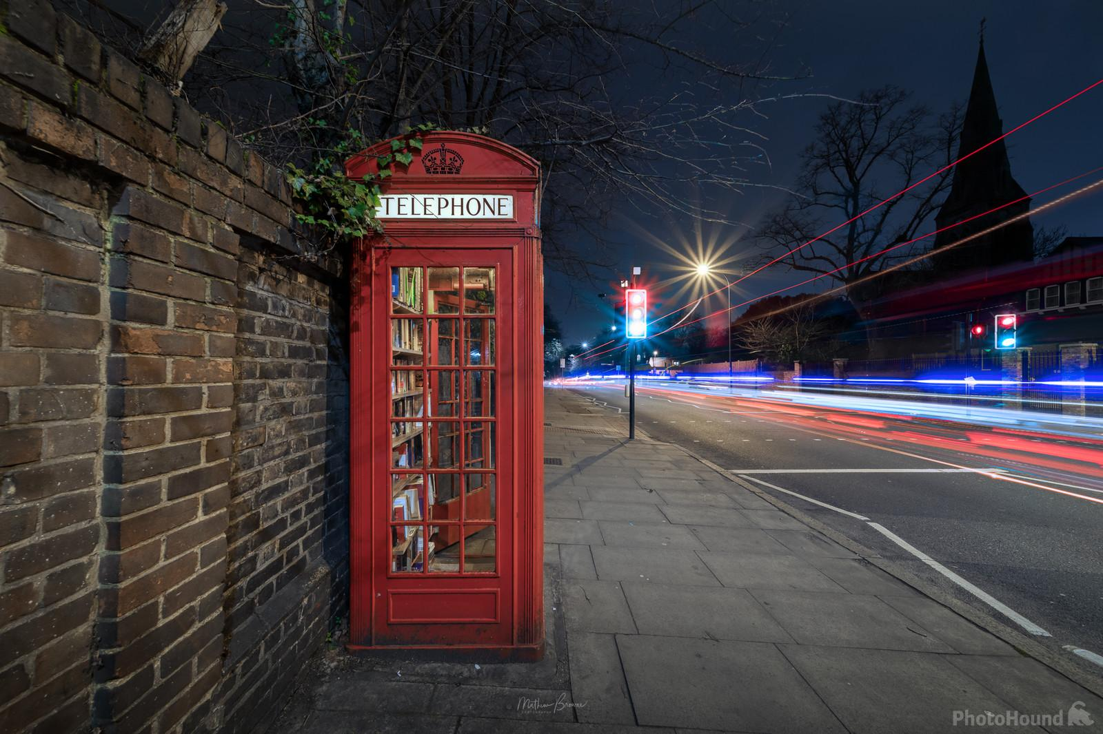 Phone Box Library - PhotoHound photo spot
